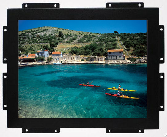 Open frame 15 inch square screen monitor