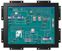 12 inch open frame touch monitor