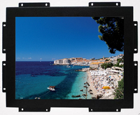 Open frame 17 inch square screen monitor