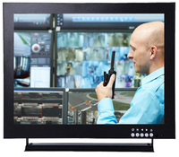 Professional 15 inch CCTV monitor